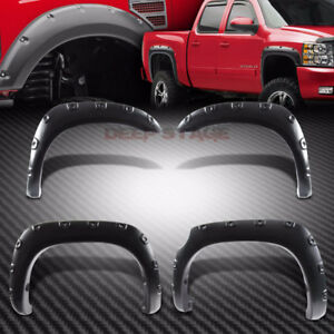 2014-2018 chevy silverado Fender Flares Pocket Style Riveted