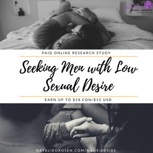 Research Study for Men with Low Sexual Desire