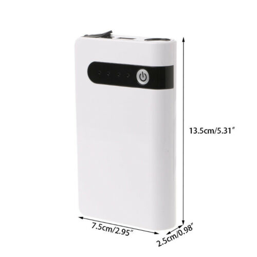 12V Portable 20000mAh Car Jump Starter Pack Booster Battery Power Bank Charger