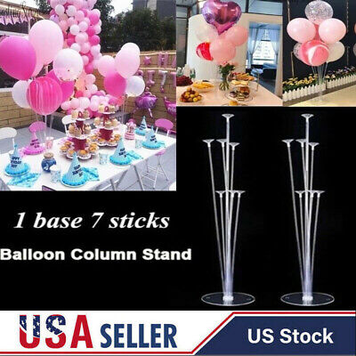 Balloons Column Base Stand Display Set Holder Wedding Birthday Party Decoration](Engagement Party Balloons)