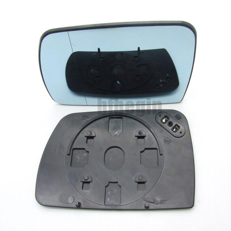 Left hand passenger side for VW Touareg 2007-2010 heated wing mirror glass