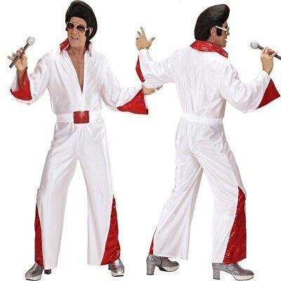 Elvis Gr. 54/56 (XL)  Herren Kostüm - Rockstar Anzug #3520 (Herren Elvis Kostüm)
