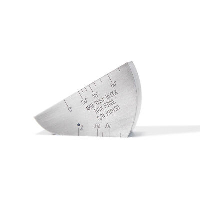 Yushi Mab Angle Beam Rompas Calibration Standard Carbon Steel Block Metric