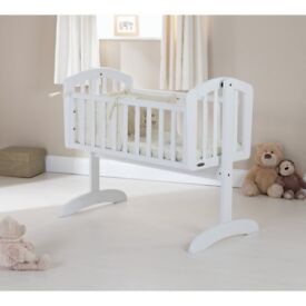 Obaby sophie swinging crib