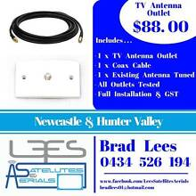TV ANTENNA OUTLET/POINT/JACK 88.00 East Maitland Maitland Area Preview