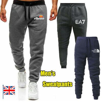 Jumper Mens Slim Bottoms Jogging Trousers Track Sweatpants Sports Gym Running