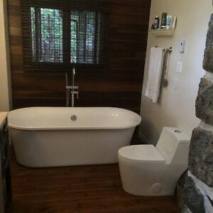 Toilette monopiece, salle de bain, toilet,