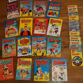 Large Collection of Dandy/Beano Annuals & Comics