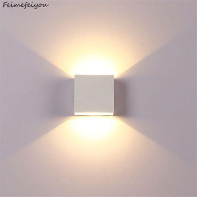 Rail Wandleuchte (Lampa Led Aluminium Wall Light Rail Project Square Bedside Room Bedroom Lamps)