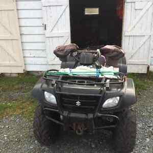 2007 Suzuki atv St. John's Newfoundland image 3