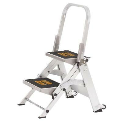 Little Giant 10210BA Safety Step Model 2-Step 300 Lb Rated Aluminum Stepstool