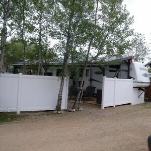 Must see trailer & assigned lot at Wakaw Lake Regional Park!