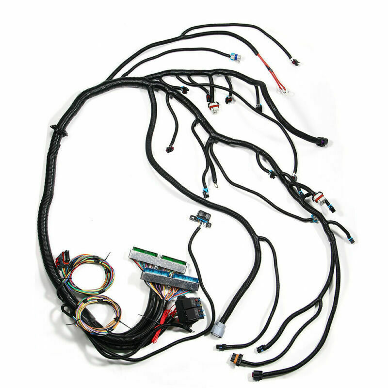 Standalone Wiring Harness W/ 4L60E For 03-07 LS Vortec 4.8