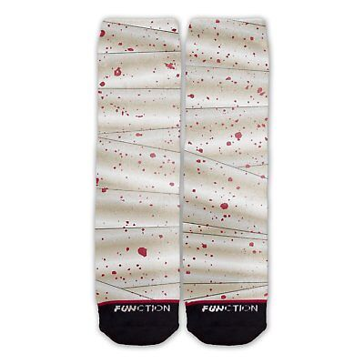 Function - Mummy Wrap Costume Socks Halloween paper bandages horror Egyptian