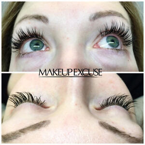 Makeup Excuse Inc. --> Eyelash Extensions Edmonton Edmonton Area image 1