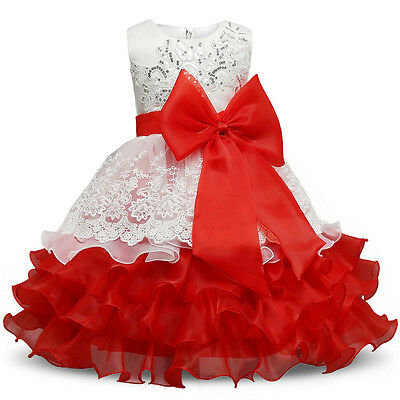 Girl Dress Children Kids Dresses For Girls Birthday Outfits Party Formal  Wear (Girl Dresses For Party)