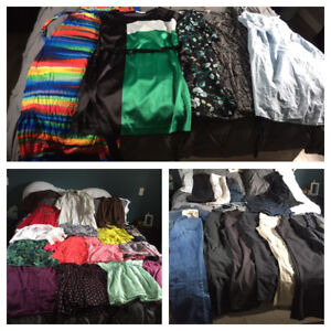 Lot of maternity clothes