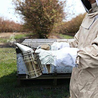 Stainless Stee Bee Smoker Smoke Transmitter With Bee Smoker Fuelbeekeeping Tool