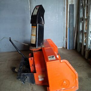 "42"" Front Mounted Kubata Snow Blower"