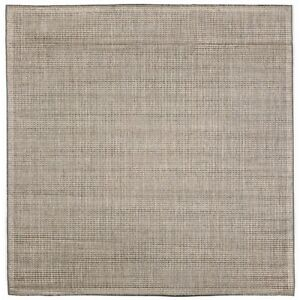 Sloan Brown Texture Outdoor Area Rug 7'10 Square