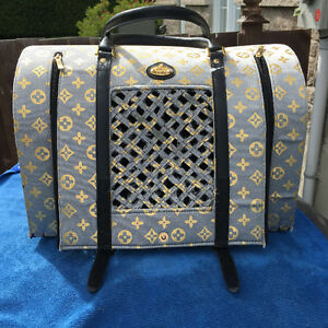 Louis Vuitton-Inspired Dog/Cat carrier by La Dosha West Island Greater Montréal image 4