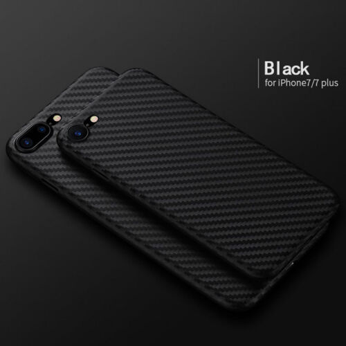 new styles 91b3c daaed Details about Luxury Ultra-thin Carbon Fiber Back Case Cover For Apple  iPhone 8/ 7 Plus