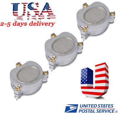3pcs Dental Aluminium Denture Flask Compressor Parts Dental Lab Equipment Usa