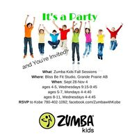 ZUMBA and YOGA programs for KIDS