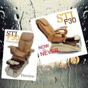 Pipeless jets, glass bowl pedicure spa chairs NEW ON SALE!