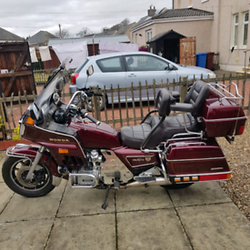 Honda 1200 gl goldwing low miles