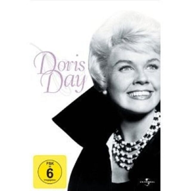 DORIS DAY BOXSET - 3 DVD NEU DORIS DAY,ROCK HUDSON,TONY RANDALL
