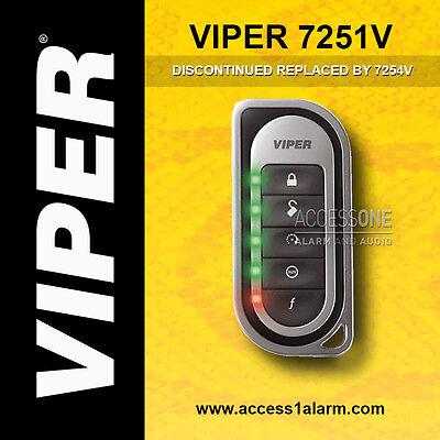 Viper 7251V 2-Way LED Replacement Remote Control Transmitter EZSDEI7251 7254V