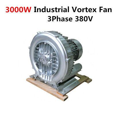 3000w High Pressure Vortex Fan Vacuum Pump Air Blower 3phase 380v 2.5 Inch Inlet