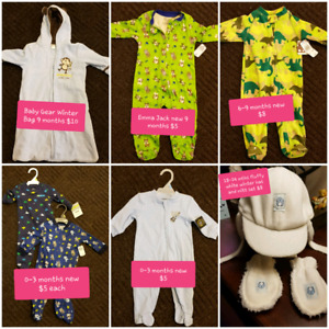 New and Lightly Used Baby Boy Outfits