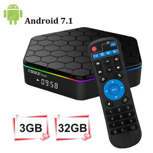 TV BOX ANDROID 7.1 T95Z + BEIN SPORT  6 MOIS WIFI