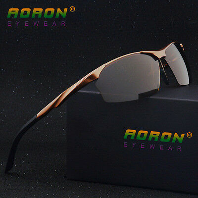Aluminum HD Lens Polarized Mens Sunglasses Sports Eyewear Driving Driver (Aluminum Eyewear)