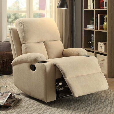 Bowery Hill Recliner in Light Beige