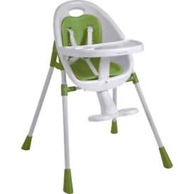 Mamas and papas bop highchair in green