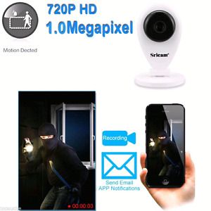 WiFi security camera New