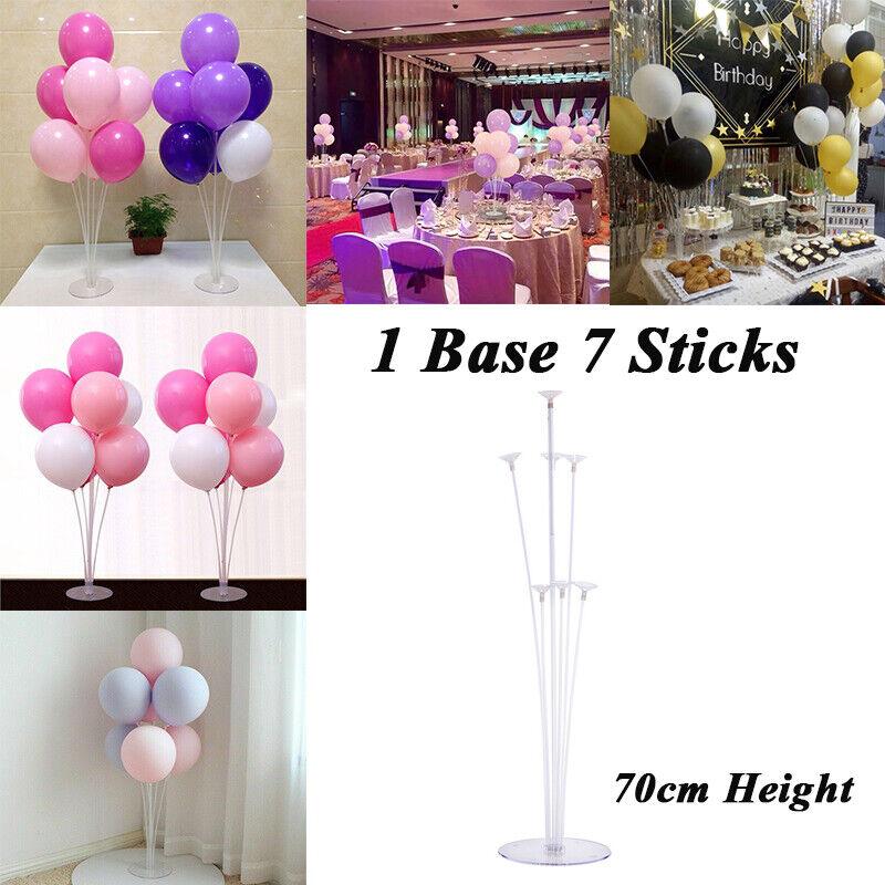 Balloon Column Stand 1 Set 70cm Base Balloons Stand Holder Stick Stand NEW //EN
