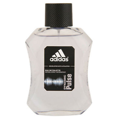 Adidas Mens Edt Spray - Adidas DYNAMIC PULSE for Men by Coty EDT Spray 3.4 oz  New Tester With Cap