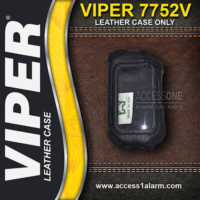 Viper 7752V or Python 7752P HIGH QUALITY LEATHER Remote Control Cover 5901