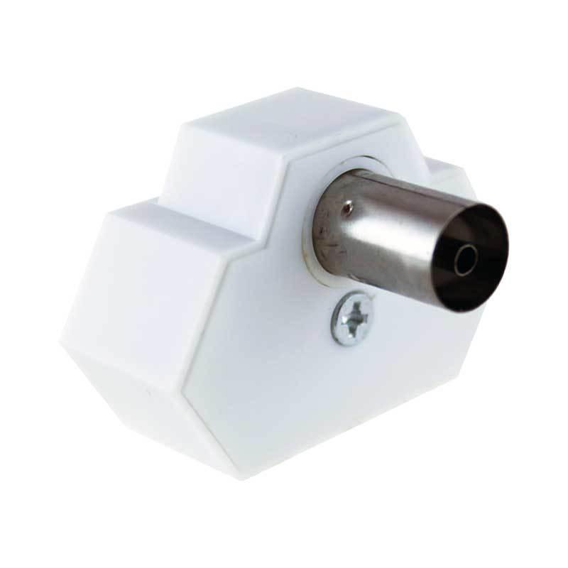 koaxial t splitter koax stecker buchse verteiler weiche splitter antennenkabel eur 2 65. Black Bedroom Furniture Sets. Home Design Ideas