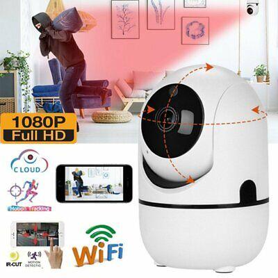 HD 1080P WIFI Auto Tracking Outdoor PTZ IP Camera Wireless CCTV Security IR Cam