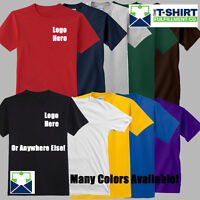 Custom T Shirts Printed Apparel DTG Screen Printing Available