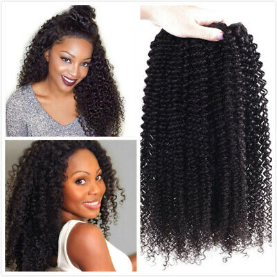 Best Mongolian virgin Kinky Curly Hair Weave 100% human Hair Extensions for
