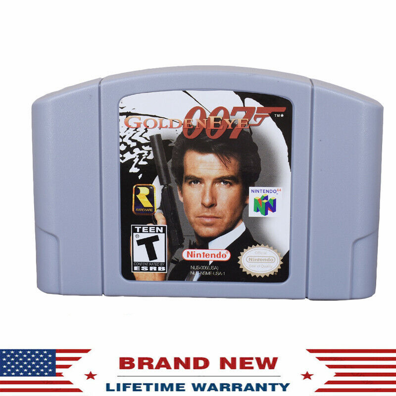GoldenEye 007 Game Card Cartridge Console US Version For Nin
