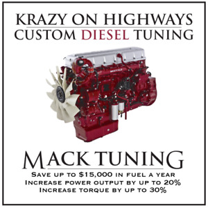 Krazy On Highways INC Custom Mack DPF , EGR & UREA Delete Tuning