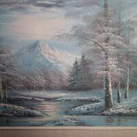 R. Hensen Oil Painting