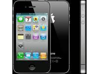 Iphone 4 o2 black 8GB